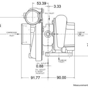 GT3071R Super Core 836028-5002S