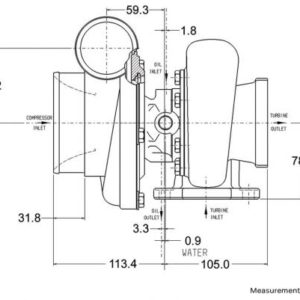 GT3582R Super Core 836033-5002S